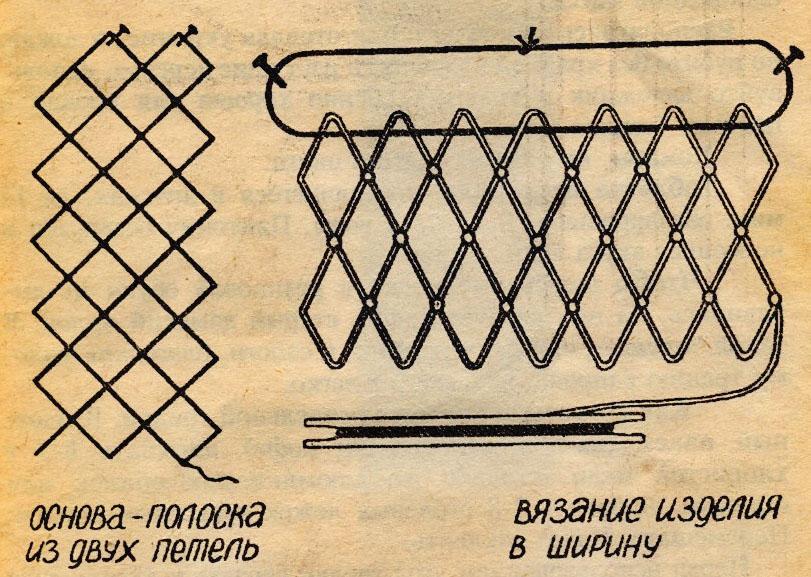 как связать подсачек