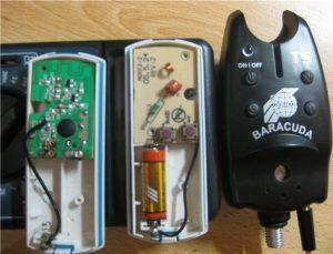 Электронный сигнализатор с пейджером
