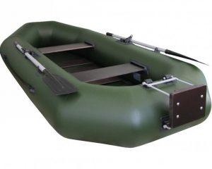 лодка с транцем